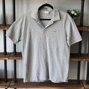 Lacoste Polo | Men's XL | Gray | EUC |